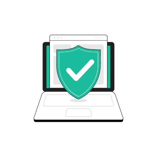 online protection image